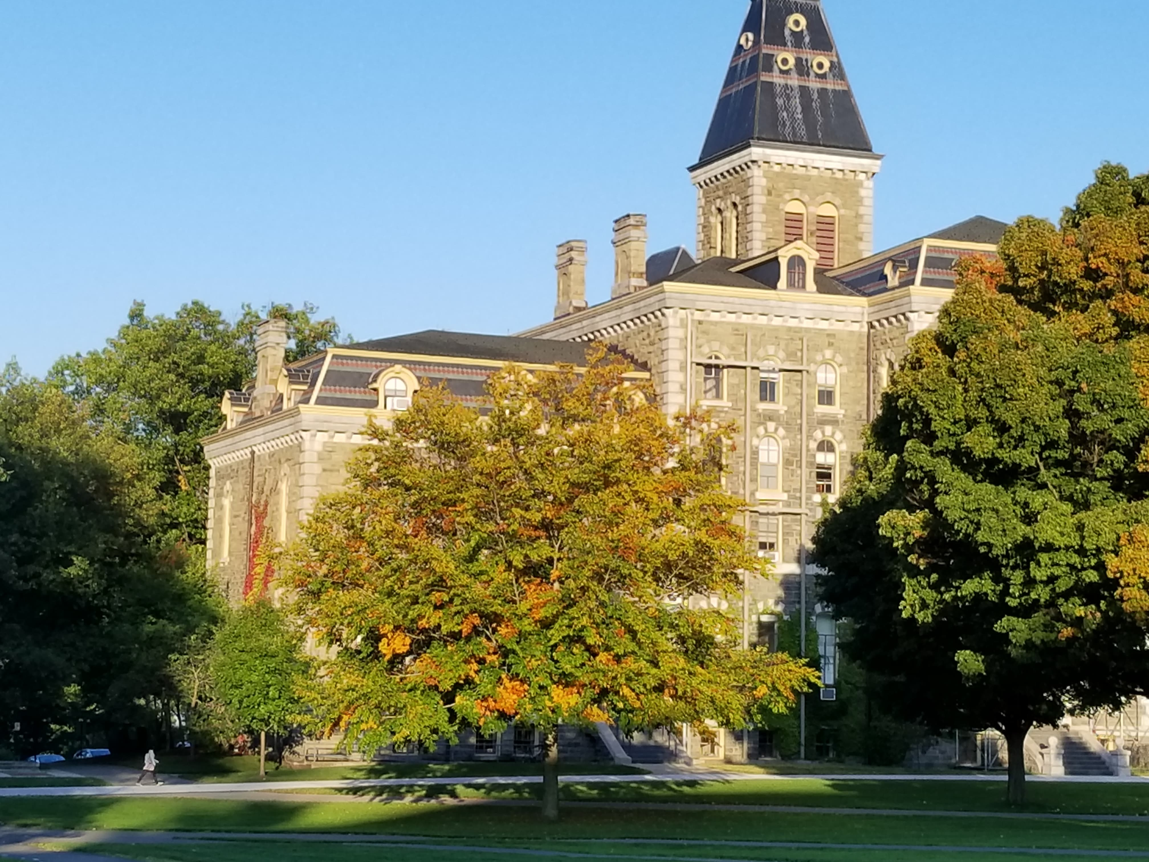 Fall Colors at McGraw Hall