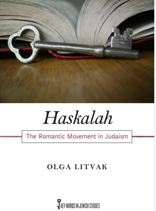 Book Cover: Haskalah: The Romantic Movement in Judaism by Olga Litvak