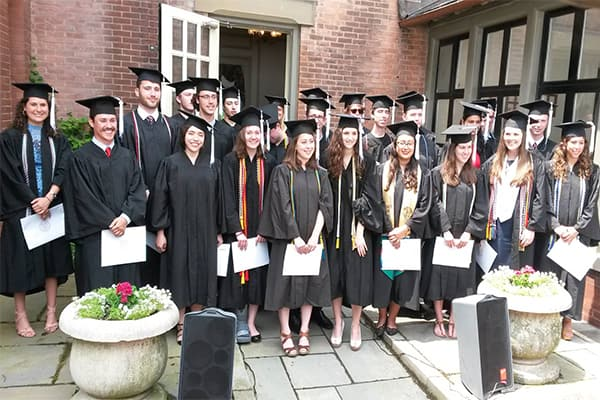 History Graduates at A D White House 2016