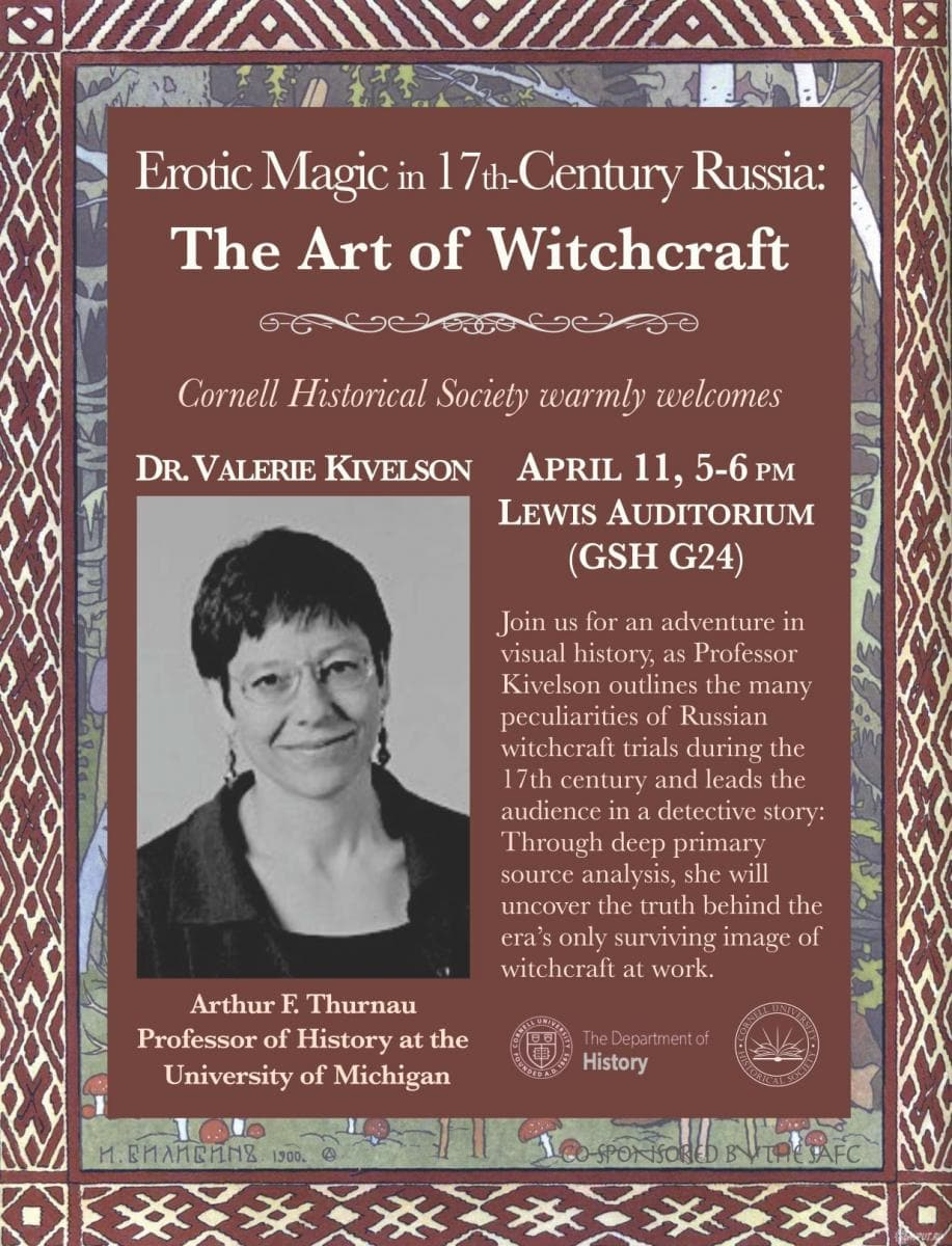 The Art of Witchcraft Lecture Flyer, information on page